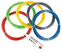 Набор «Мини» из 5 цветов пластика  ABS/PLA по 10 метров