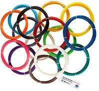 Набор «Полный» из 15 цветов пластика ABS/PLA по 10 метров