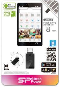 USB-флеш Silicon Power Mobile X21 OTG 8Gb USB/microUSB