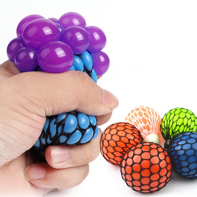 "Антистресс ""виноград"" мяч в сетке"