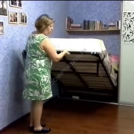 СМАРТБЕД 140 - кровать-трансформер в нишу 140 x 200