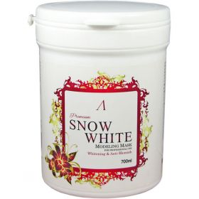 ANSKIN PREMIUM SNOW WHITE MODELING MASK 700ml - АЛЬГИНАТНАЯ МАСКА ОСВЕТЛЯЮЩАЯ