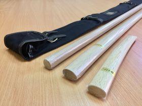 Комплект оружия (IWATA): бокен, дзе, танто из Японии в чехле  (IWATA)  - WSS