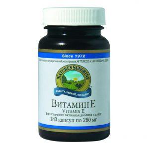Витамин Е (Vitamin E) 180 капс