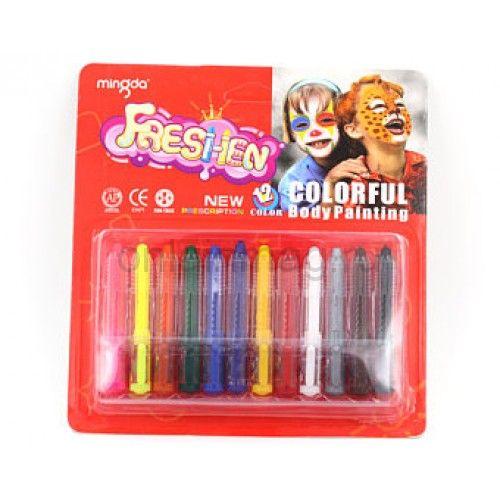 Аквагрим карандаши для лица