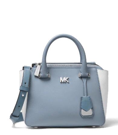 MICHAEL MICHAEL KORS Nolita Mini Color-Block Leather Satchel