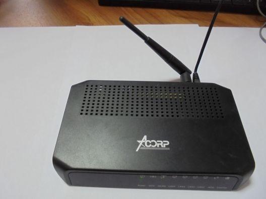 ADSL модем 4 порта AcorpW510N/W520N annex a