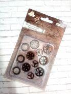 набор ШЕСТЕРЕНКИ  12 шт диаметр 15-18-20 мм материал металл