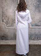 белое платье-туника