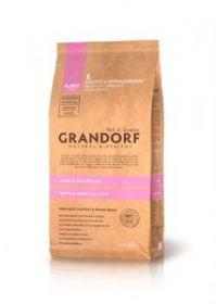 Grandorf DOG Ягненок & Рис д/щенков всех пород с 3 недель, беременных и кормящих сук мелких и средних пород