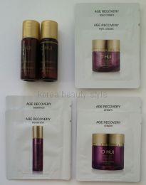 Набор  из 8 пробников линии  O HUI baby collagen™  anti-wrinkle intensive firming tightly lift AGE RECOVERY.