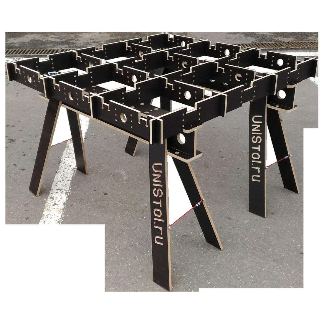 Ячеистый стол для раскроя листовых материалов 1200x1200 мм без столешницы