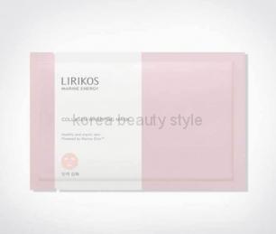 LIRIKOS MARINE ENERGY COLLAGEN WRAPPING  MASK (28 ml)- антивозрастная маска с морским коллагеном  от бренда LIRIKOS (28мл) с запатентованным комплексом  Marine Energy™