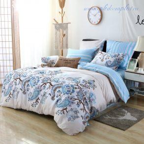 Комплект постельного белья на резинке (модель AR066-2СП)