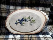 "Cross stitch pattern ""Blueberry""."