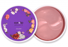 Eyenlip Collagen Hydrogel Eye Patch 60ml - гидрогелевые патчи с коллагеном
