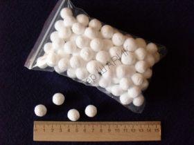 Шарики пенопластовые 1.0 см / 100 шт.