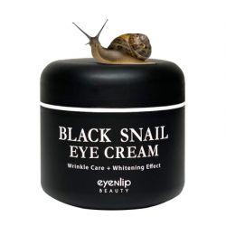 Eyenlip Black Snail Eye Cream 50ml - многофункциональный крем для глаз с муцином черной улитки