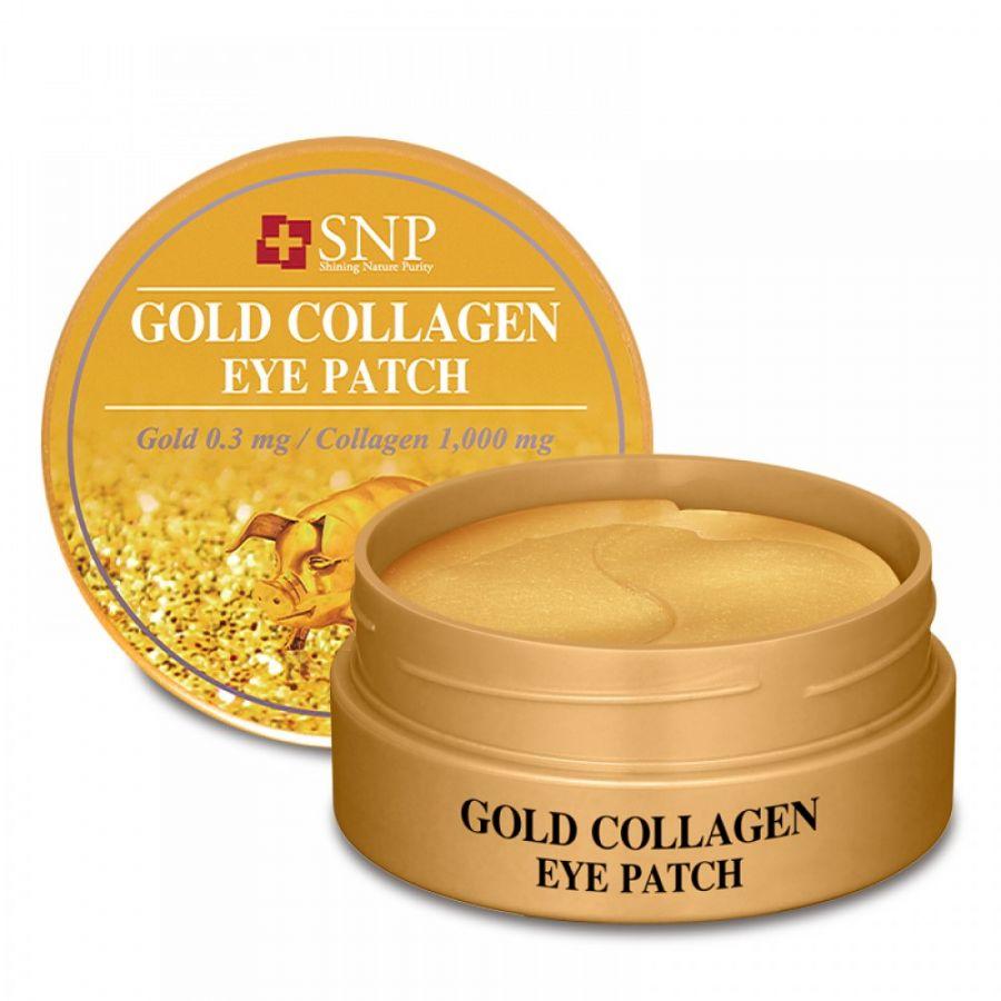 Патчи для век SNP Gold Collagen Eye Patch