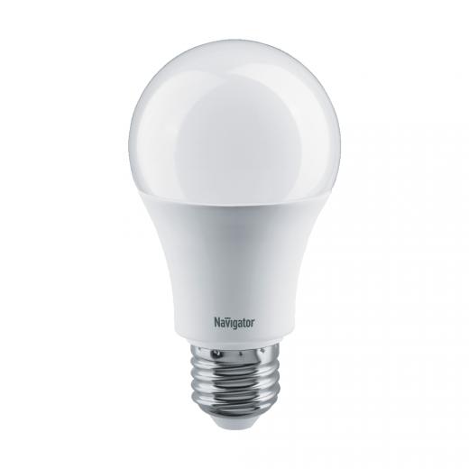 Лампа A60 светодиодная 10 Вт. Navigator Е27 диммируемая