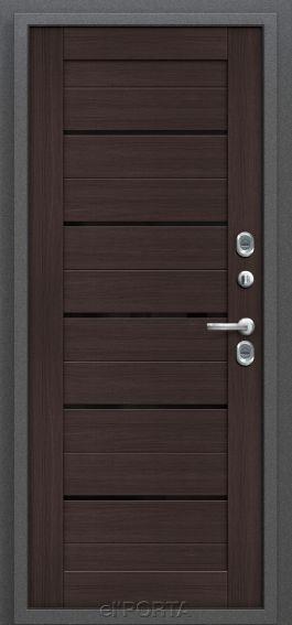Входная дверь с терморазрывом Термо 222| Wenge Veralinga