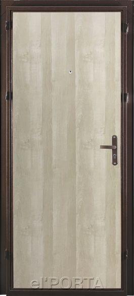 Дверь входная Ультра Лайт| Беленый дуб