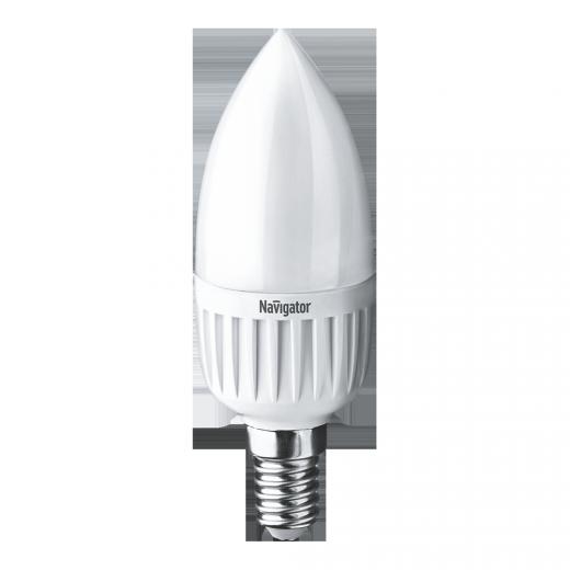Лампа C37 светодиодная 7 Вт. FR Navigator Е14 диммируемая