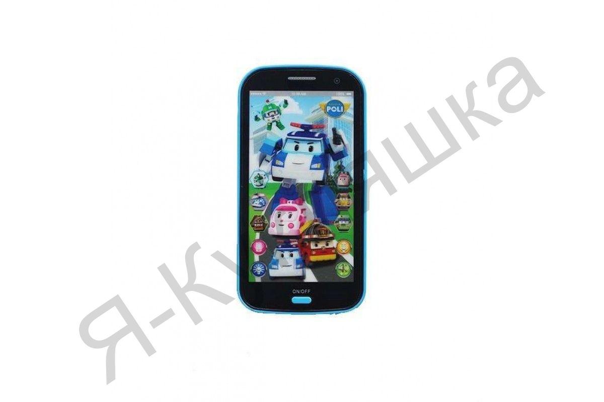 Интерактивный смартфон Робокар Поли