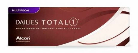 Dailies total 1 multifocal 30 pk.