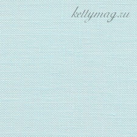 Канва Zweigart EDINBURGH 36 CT арт 3217/550  №550 голубой лед/ice blue