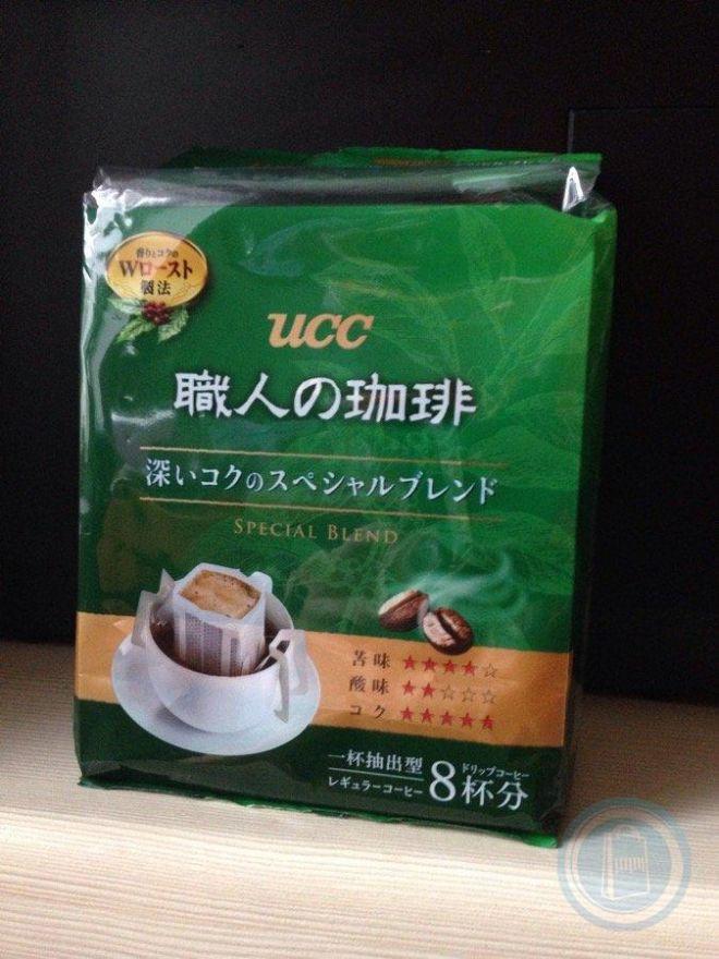 Кофе UCC Спешл Бленд Килиманджаро 7 гр*8 порций