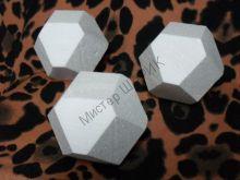 Куб Кристалл пенопластовый 10 см