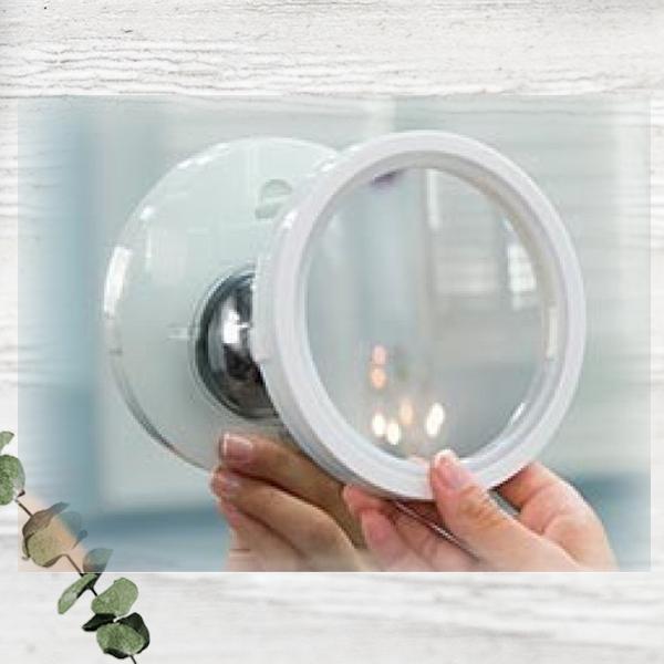 Увеличительное зеркало с подсветкой Swivel Brite