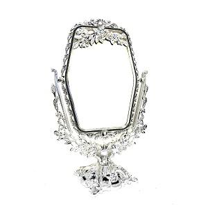 Двустороннее прямоугольное косметическое зеркало с увеличением Cosmetic Mirror