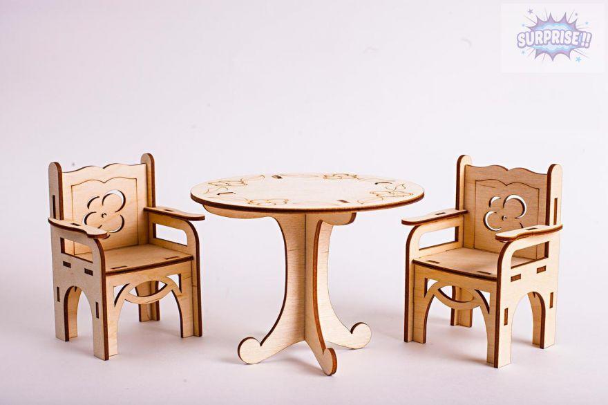 """Набор мебели """"Стол и стулья"""""""