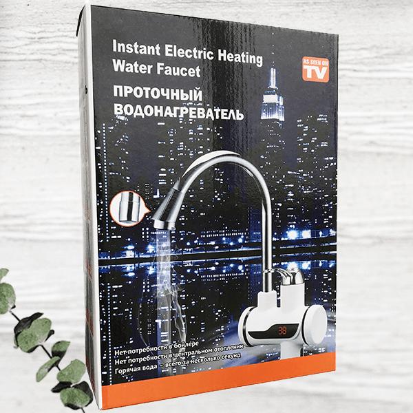 Проточный кран-водонагреватель Instant Electric Heating Water Faucet