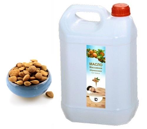 Массажное масло миндальное в канистре, 5 литр