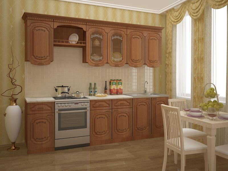 Кухня ЛИЗА 2,0 М. С КАРНИЗОМ