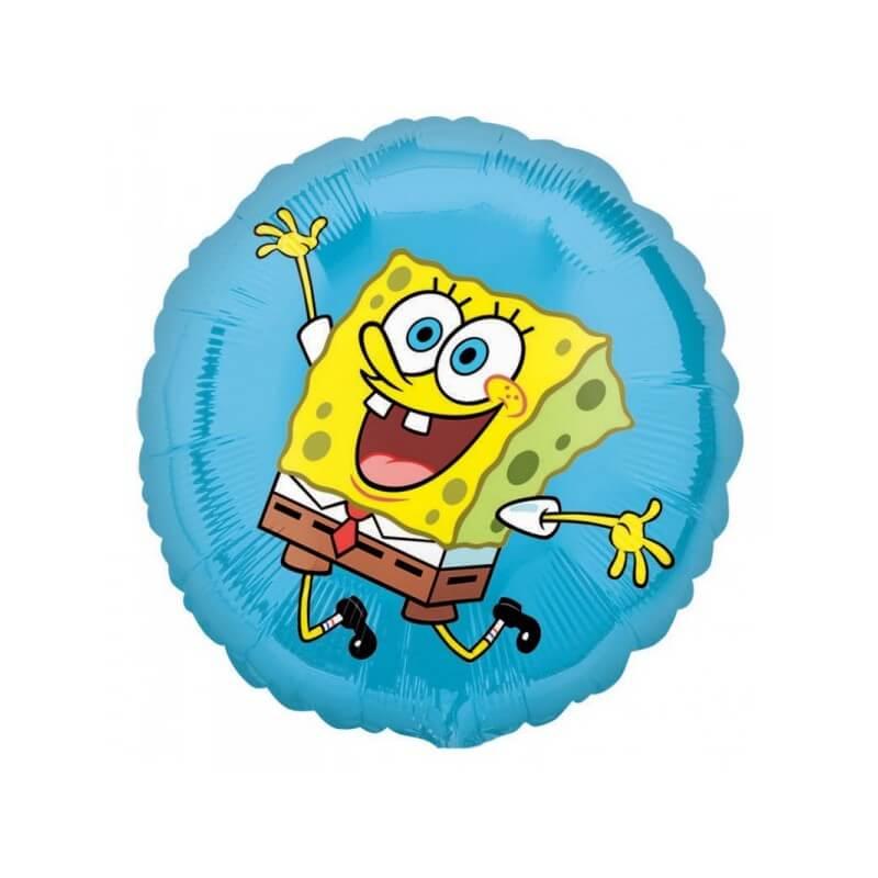 Фольгированный шарик «Спанч Боб»
