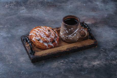 Десертная тарелка для кофейни, с ручками. New 2019. Арт.1354