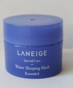 Laneige Water Sleeping Mask (Lavender) - легкая ночная увлажняющая маска от Laneige c  маслом лаванды  (15  мл)