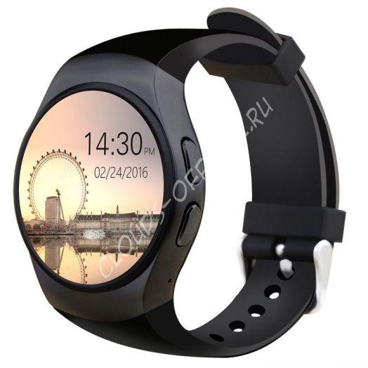 Умные часы Смарт часы Kingwear KW18 (black)