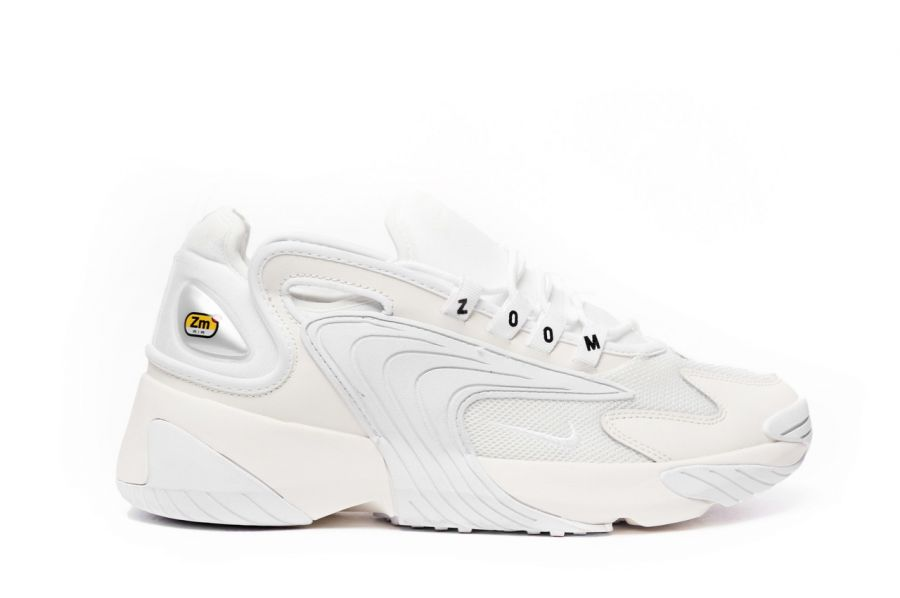 NIKE ZOOM 2K White /Grey silver