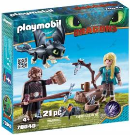 Набор Playmobil 70040 Астрид с маленьким драконом