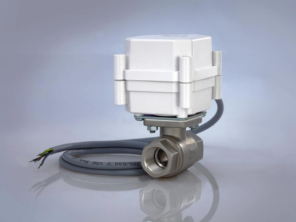 Шаровой кран с электроприводом GIDROLOCK ULTIMATE 220V AC