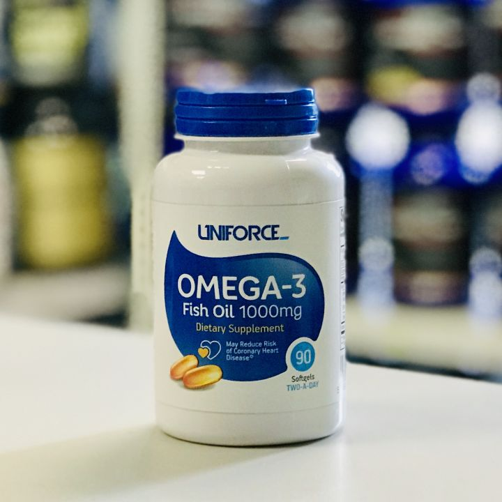 Uniforce - Omega-3 1000mg (90 гел.капс.)
