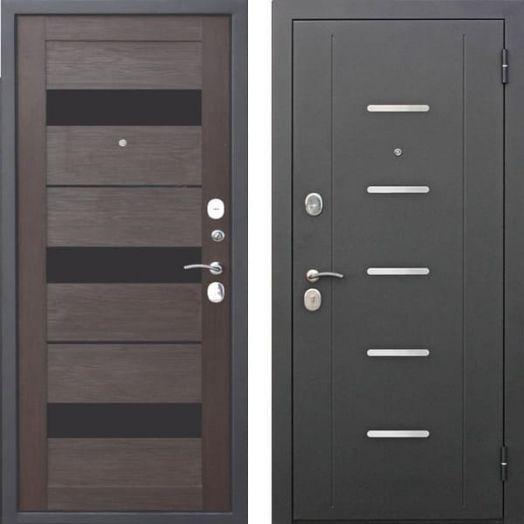 Входная дверь ГАРДА МУАР ЦАРГА 7,5 см (тёмный кипарис)