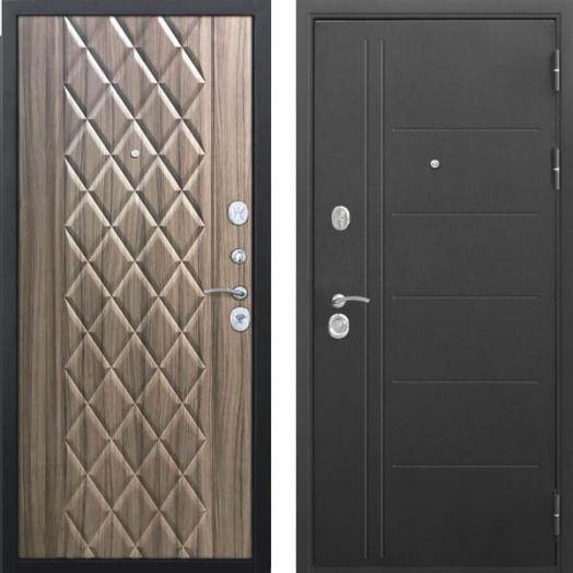 Входная дверь ТРОЯ МУАР 10 см (Палисандр)