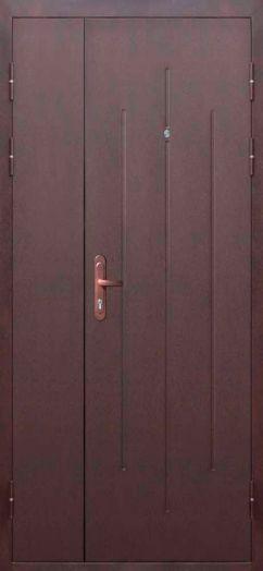 Входная дверь Стройгост 7-1 Металл/Металл 3 петли (1200х2050)