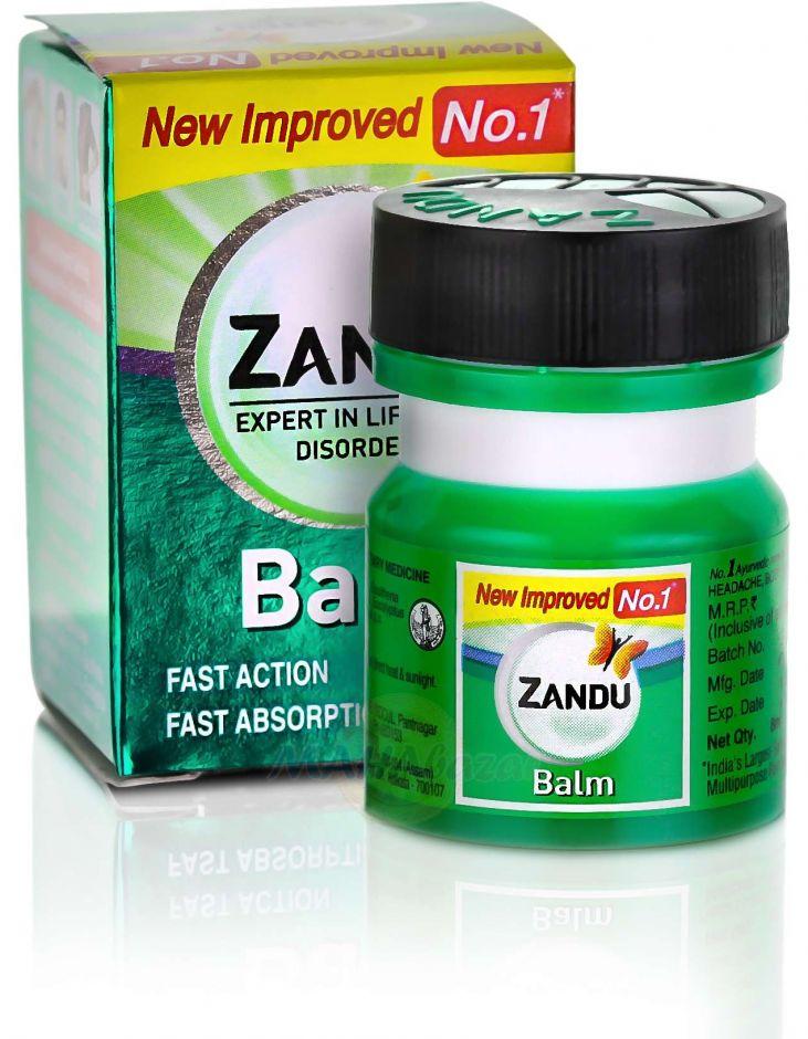 """Обезбаливающий бальзам """"Занду"""" , 8 мл, производитель Занду; Zandu Balm, 8 ml,"""